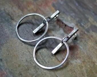 Hoop Earrings, Minimalist Earrings, Large Hoop Earrings, Big Hoops, Silver Hoops, Big Hoop Earrings, Simple Hoop Earrings, Silver Hoops