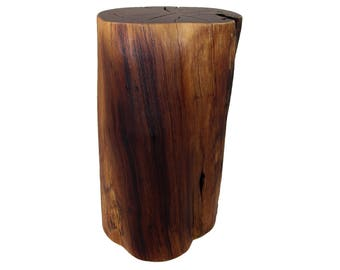 Stump Side Table Black Locust - #1
