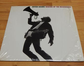 Bryan Adams Waking Up The Neighbours 2 Lp Vinyl Record In Shrink