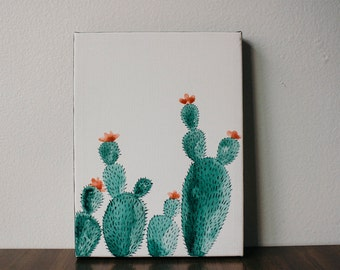 Cacti Canvas