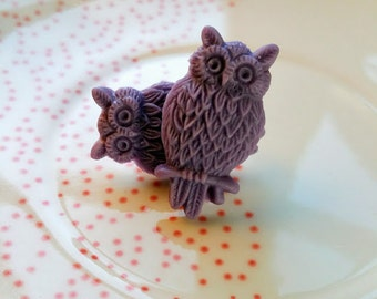 Urban Garden Party BALTIMORE Large Owl (Purple)