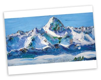 Mountain Notecard Set | Blank Cards | Stationery | Kellie Day
