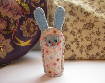 Little Bunny Fabric Decoration - Pink and Blue