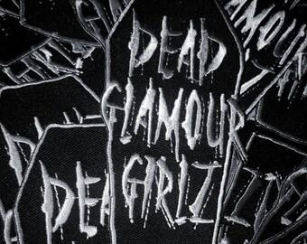 Dead Glamour Gurlz coffin patch