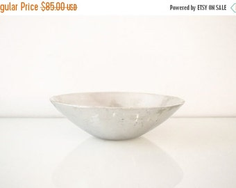 SALE silver bowl, decorative bowl, beautiful mid century modern silver Nambe decorative bowl, vintage