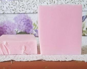 Rose Jam Soap - Rose Soap - Mothers Day Soap Gift - Floral Soap - Rose Soap Bar - Handmade Soap - Glycerin Soap - Soap Bar - Bar Soap