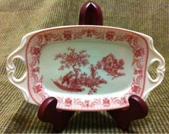 Florence by Skye McGhie Fine Porcelain Relish Tray Dish made in China