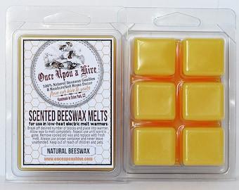 Natural Beeswax Melts 3 oz.  Natural Melt-Warmers | Wax Melts