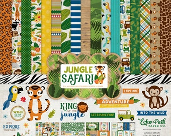 Echo Park Jungle Safari Collection Kit