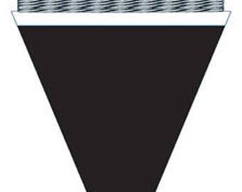 Chalkboard Paper Mini Pennant Banner Kit