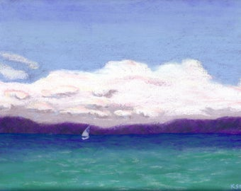 Clouds Over Glen Lake