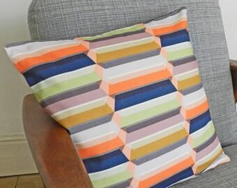 Block Valley Geometric Cushion Cover