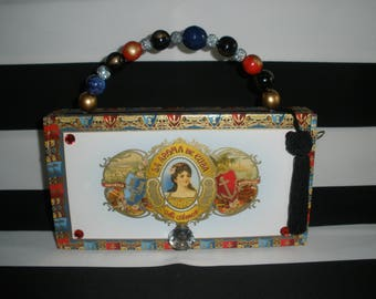 Cigar Box Purse, Mi Amor, Authentic, Tampa