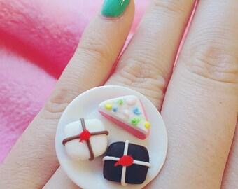 SALE Let Them Eat Cake Ring