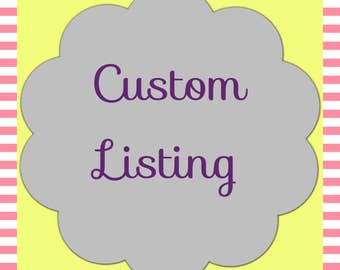 Custom baby rag quilt