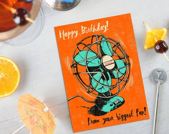 Biggest Fan Birthday Card
