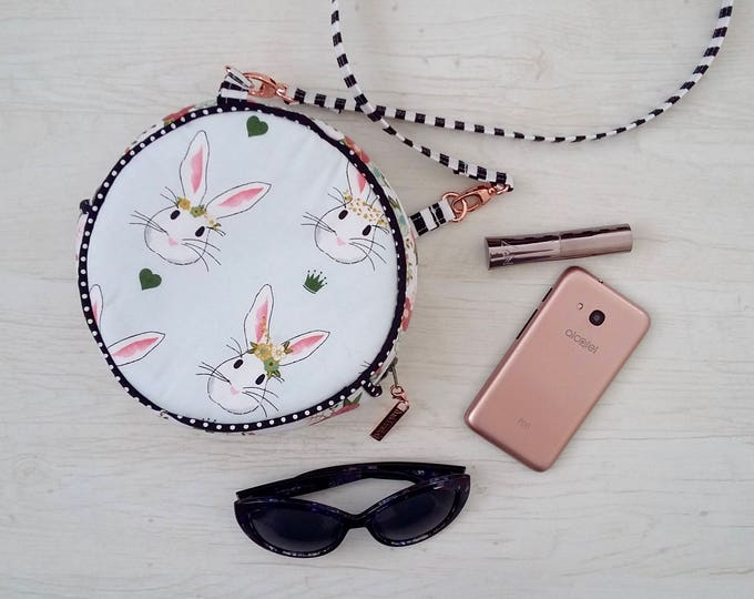 Featured listing image: Special Offer - Round White Rabbit Shoulder bag