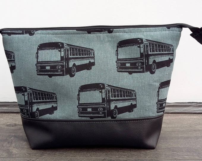 Featured listing image: Retro Buses Man's large Wash Bag