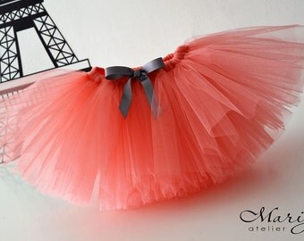 Children's Tutu Skirt - Birthday Tutu- Cake Smash Tutu - Kid's Skirt - Short Fluffy Tutu - Girls tutu
