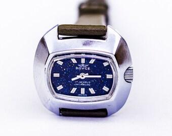 Vintage Ladies Royce Manual Wind Swiss Wrist Watch S Kocher 17 Jewels Incabloc
