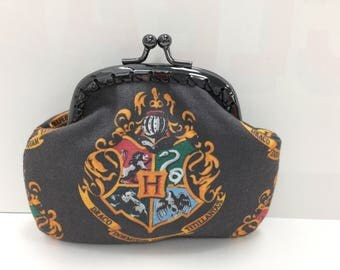 Hogwarts Crest Coin Purse