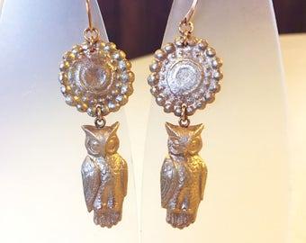 Celtic Owl Etsy