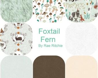 Half Yard Bundle (8) FOXTAIL FERN by Rae Ritchie for Dear Stella Half yards