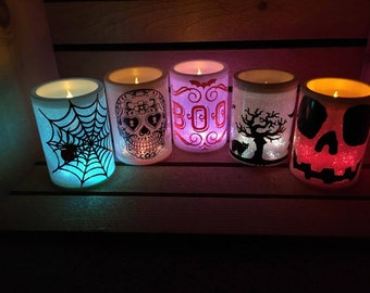 Color Changing Halloween LED Candles