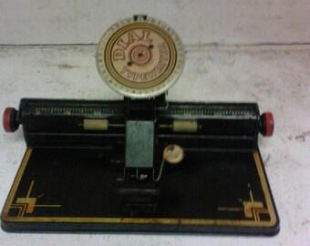 Toy Dial typewriter
