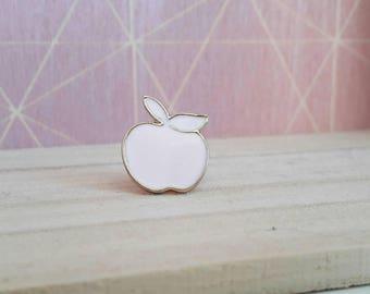 Pins Apple, pink powder.