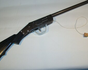 toy guns, 3 single barrow & 1 double barrel