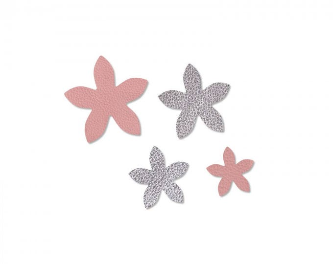 Sizzix Jewelry Making Movers & Shapers Magnetic Die Set 4PK - Star Jasmine by Jill MacKay 660659