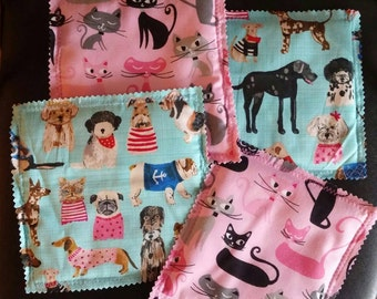 "Pet beds for 18"" dolls' pets (sized to fit my pet kennels)"