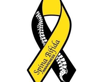 Spina Bifida Awareness Sticker/Decal or Magnet