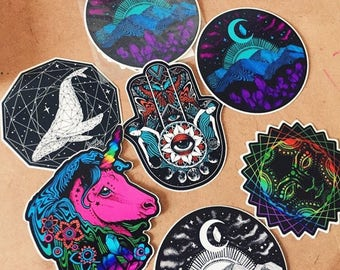 Trippy Decal Etsy