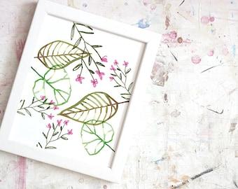 "Print ""Flowers"""