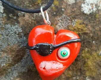 Pirate Heart Pendant