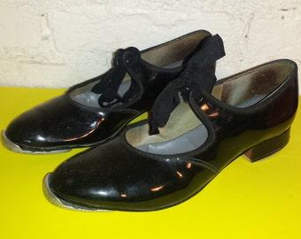 Vintage Girls Tap-Shoes