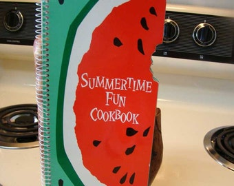 Summertime Fun Cookbook, vintage cookbook by Favorite Recipes, Vintage cookbook, Summer recipes, Fruit cookbook