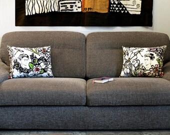 Cotton pillows printed Frida Kahlo