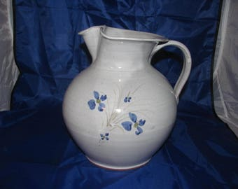 Beautiful Early Billy Ray Hussey NC Seagrove Pottery Pitcher