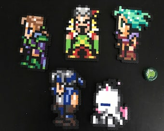 Final Fantasy VI Beadsprite - magnet option available