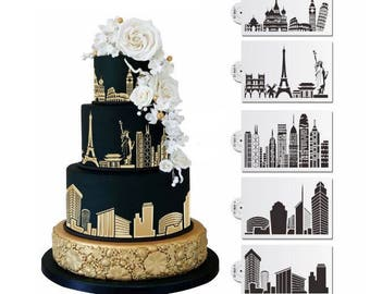 wedding cakes rome ny eiffel tower cookie etsy 25388