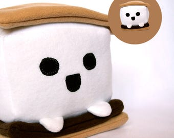S'more plushie / stuffed animal