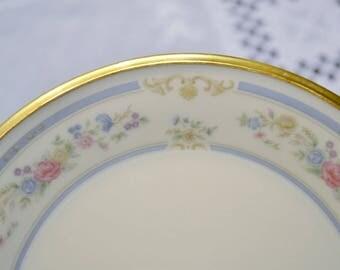 Vintage Lenox China Raleigh Bread Dessert Plate Floral Design Replacement USA PanchosPorch