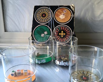 Vintage Casino Glasses design by Mike Wilson