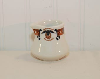 Vintage Shenango China, The Roosevelt Hotel Creamer (c. pre-1998) New Orleans History, Hotel China, American Pottery, New Castle, PA