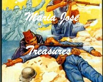 Vintage Spanish Civil War Propaganda Posters Images - Digital Download