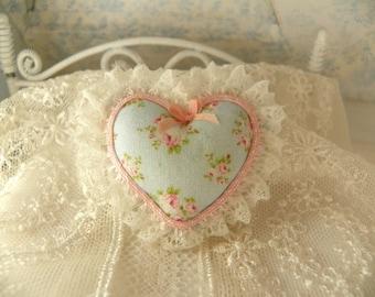 dollhouse miniatures SHABBY pillow