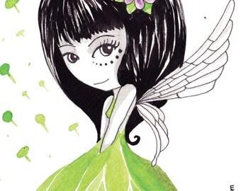 Fairy Wood Card